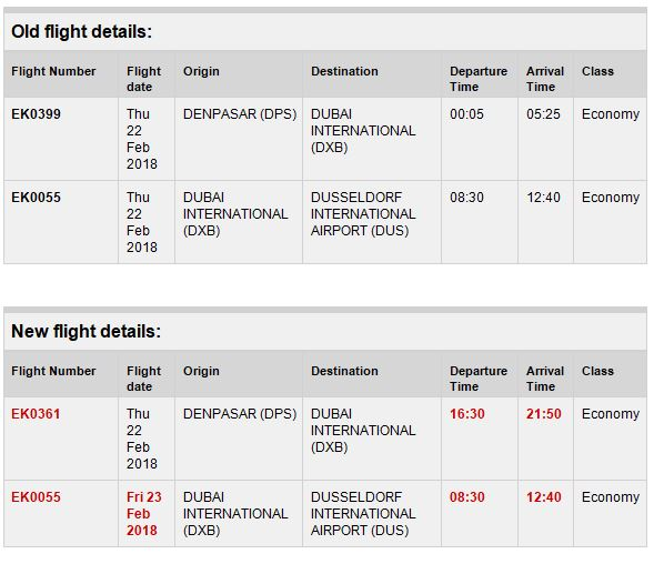 Emirates Flugausfall Und Flugstornierung Durch Technischen Defekt