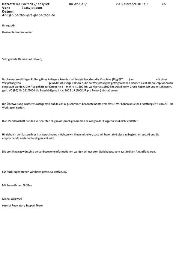 Condor lehnt Entschädigung bei Flugverspätung wegen ...