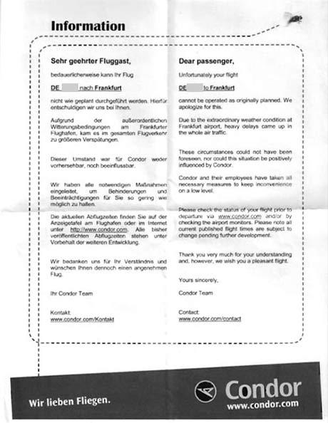 Musterschreiben Flugverspätung Fluggastrechte